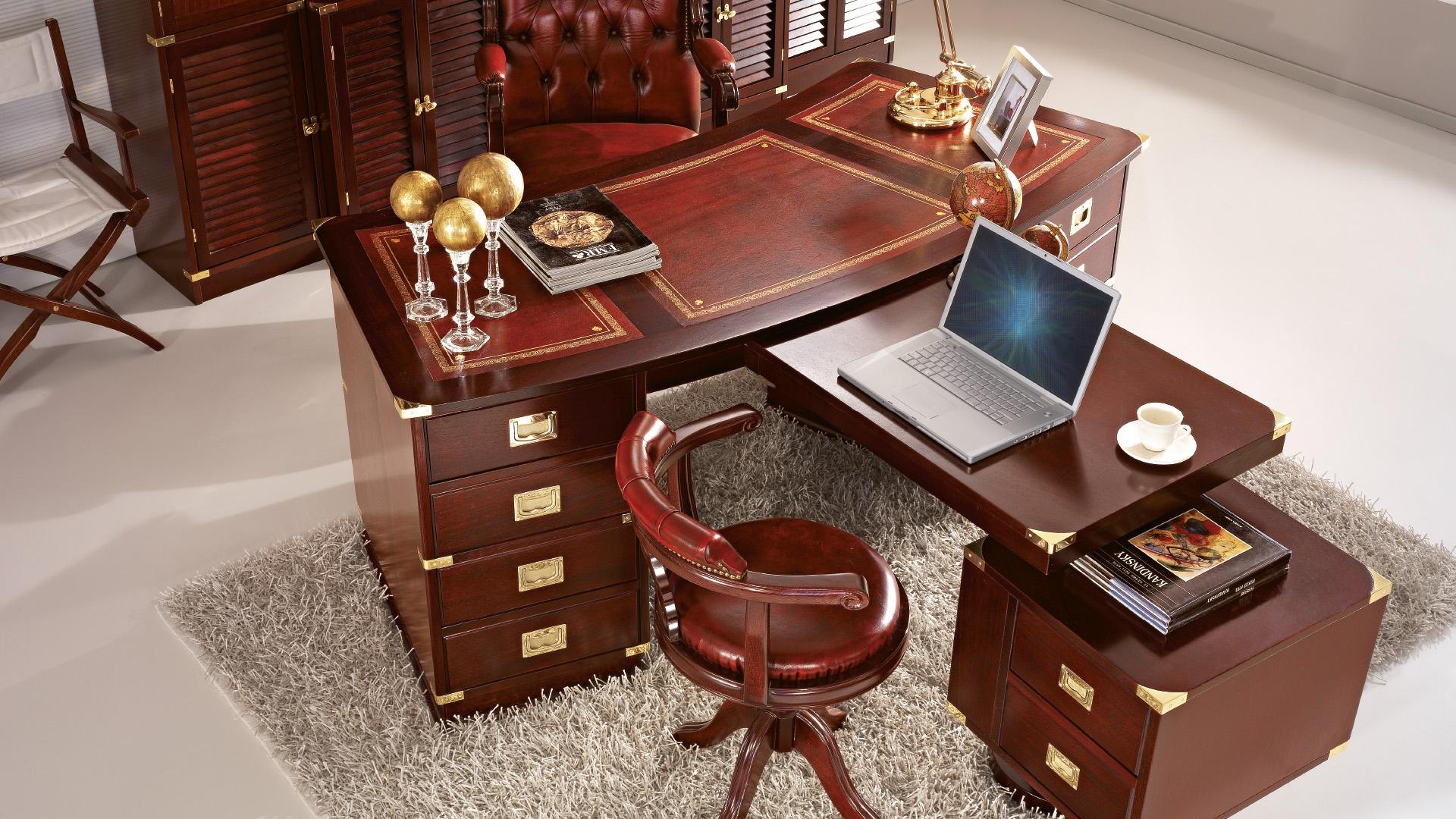 Письменный стол caroti/854/p из италии производства caroti н.