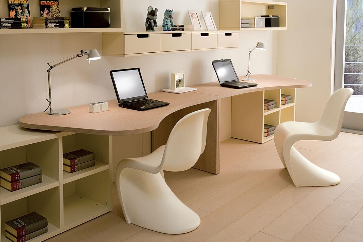 фото компьютерный стол на два рабочих места традиция