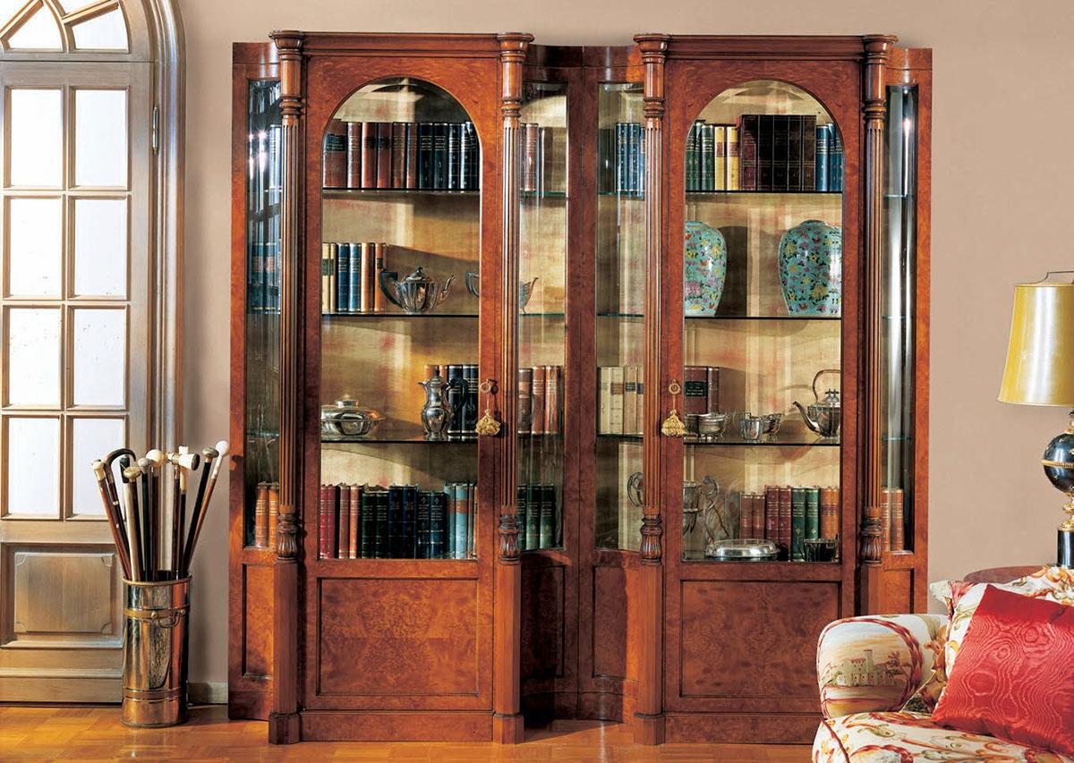 Книжный шкаф provasi 0416/bis из италии производства provasi.