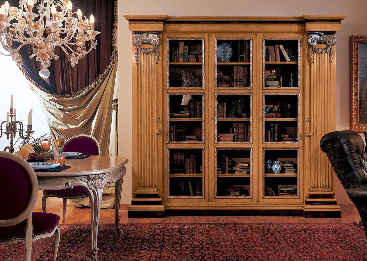 Книжный шкаф provasi 0690 0693 из италии производства provas.