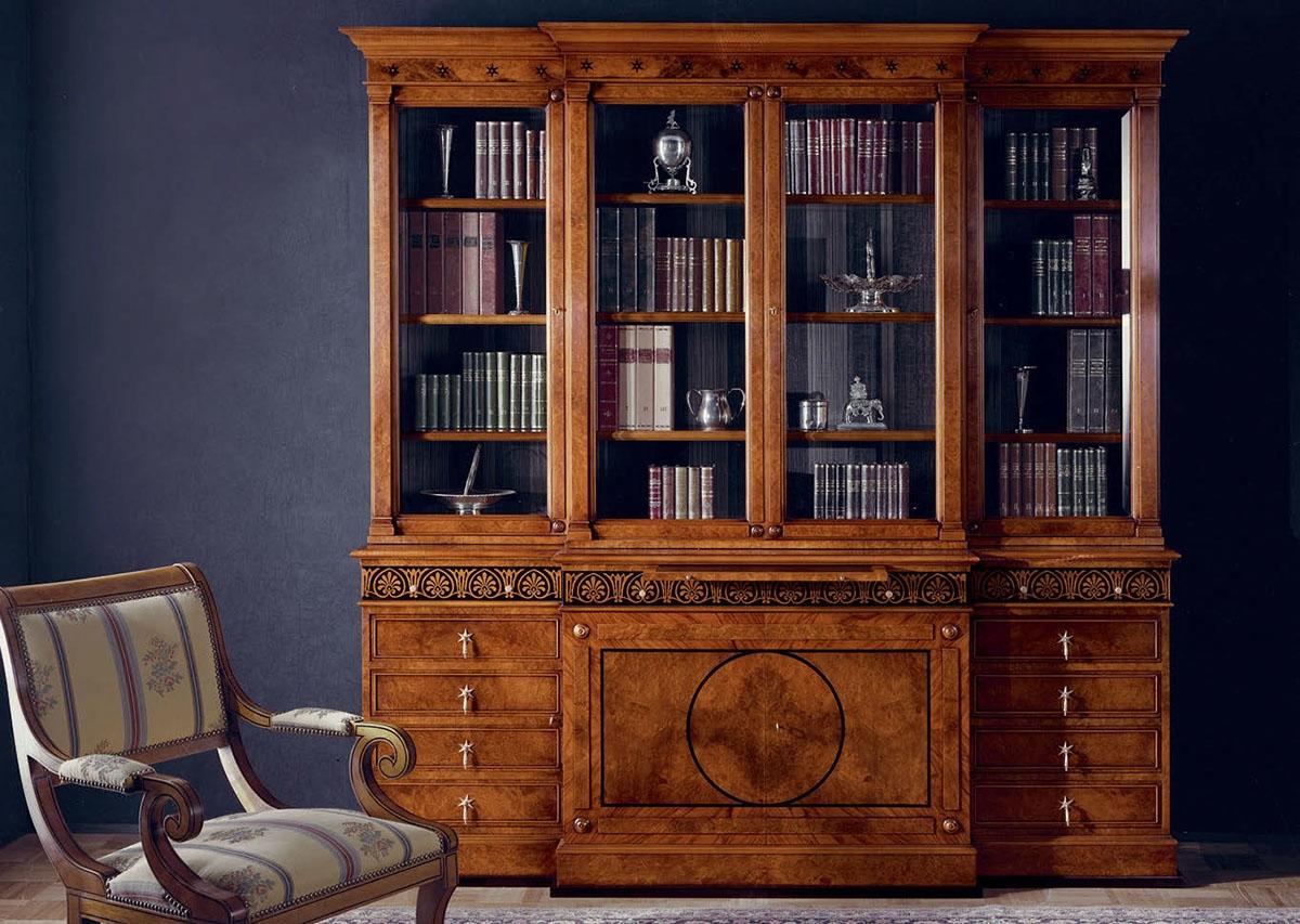 Библиотека provasi stella 4 porte - 0925 купить мебель для г.