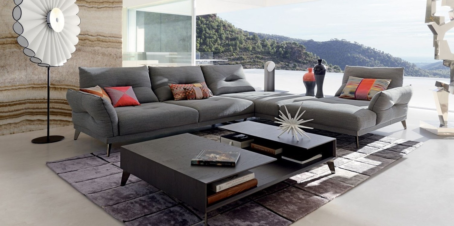 itineraire corner composition roche bobois. Black Bedroom Furniture Sets. Home Design Ideas