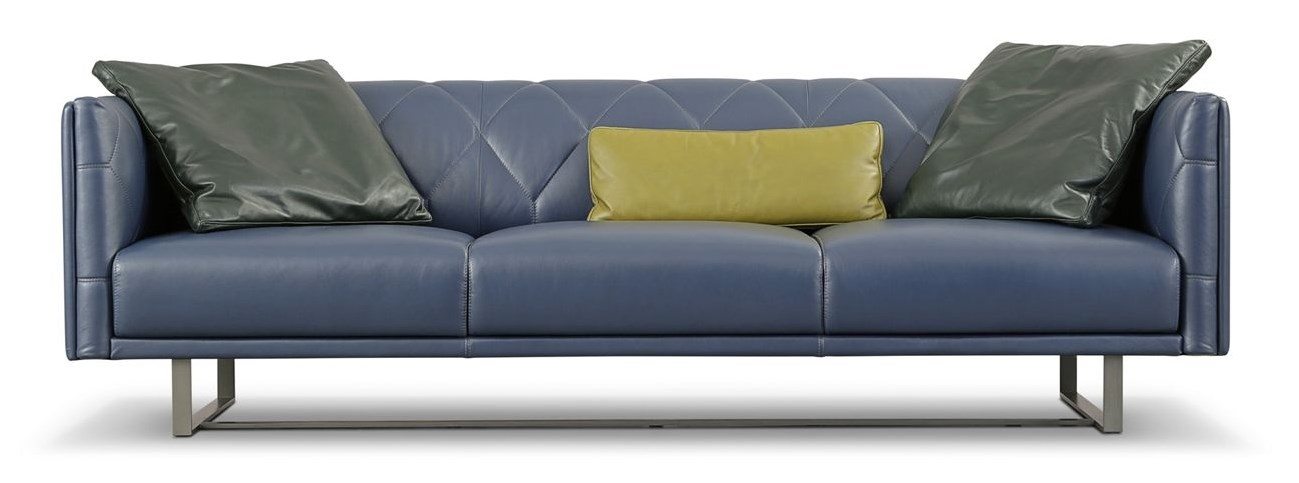 Up to date large 3 seat sofa for Roche bobois milano