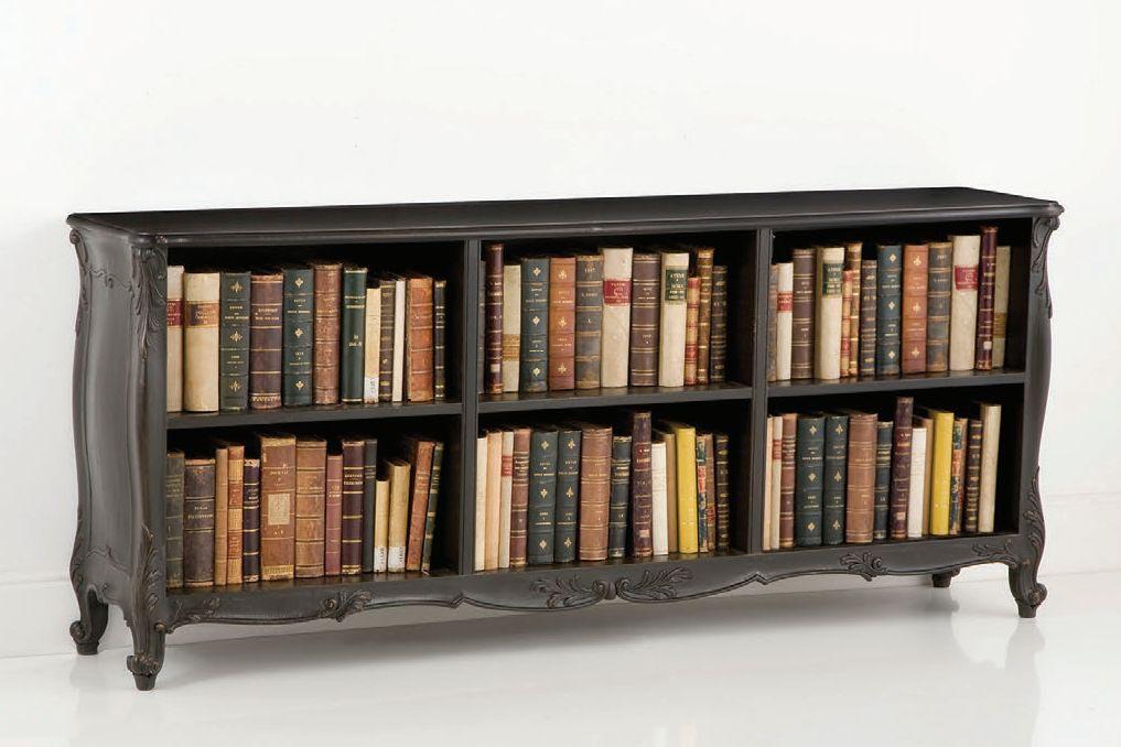Низкие книжные шкафы фото.