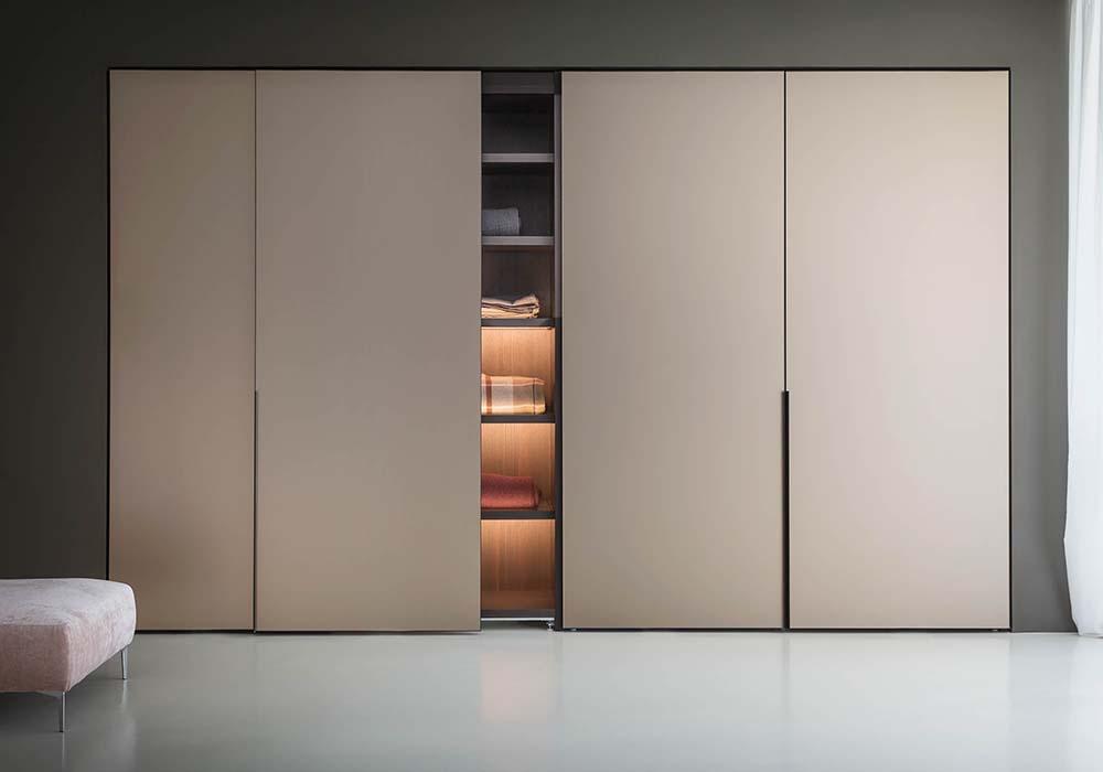 Встроенный шкаф с раздвижными дверьми своими руками 25